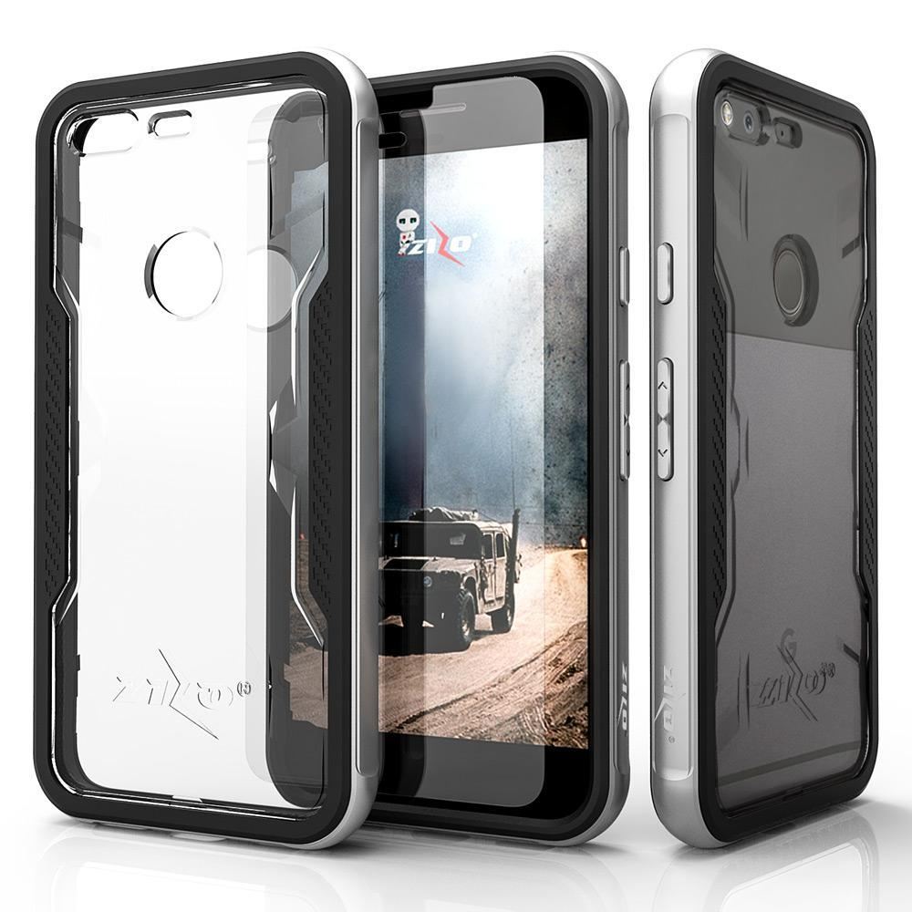 Google-Pixel-Case-Zizo-Shock-Series-w-Google-Pixel-Glass-Screen-Protector