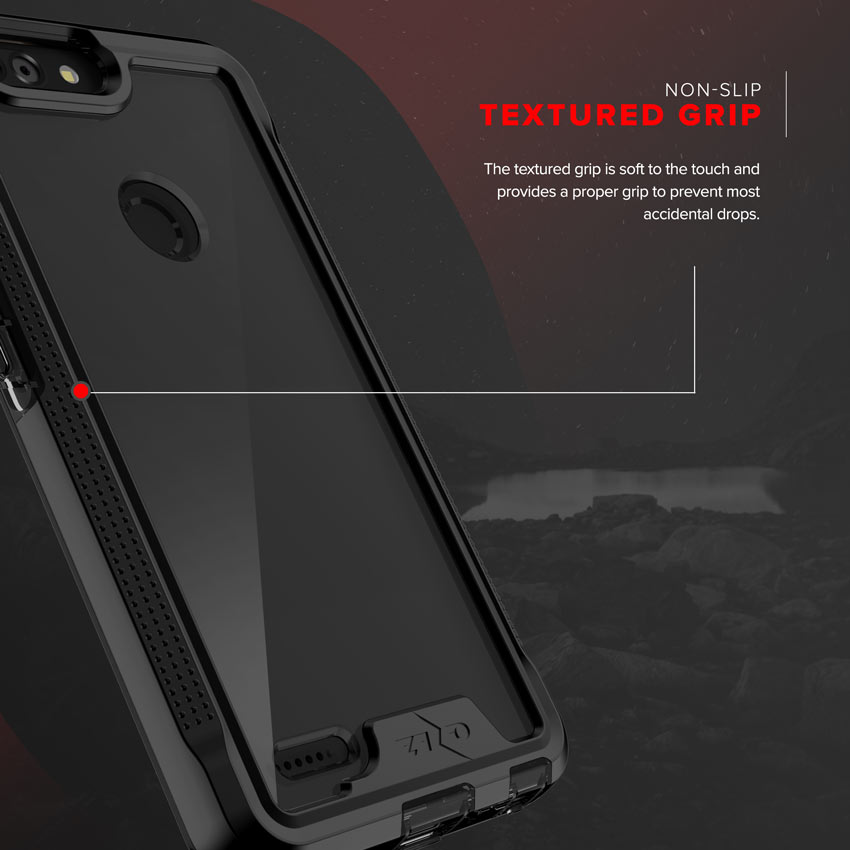 Zte Blade Z Max Case Zizo Ion Shockproof Cover W Screen