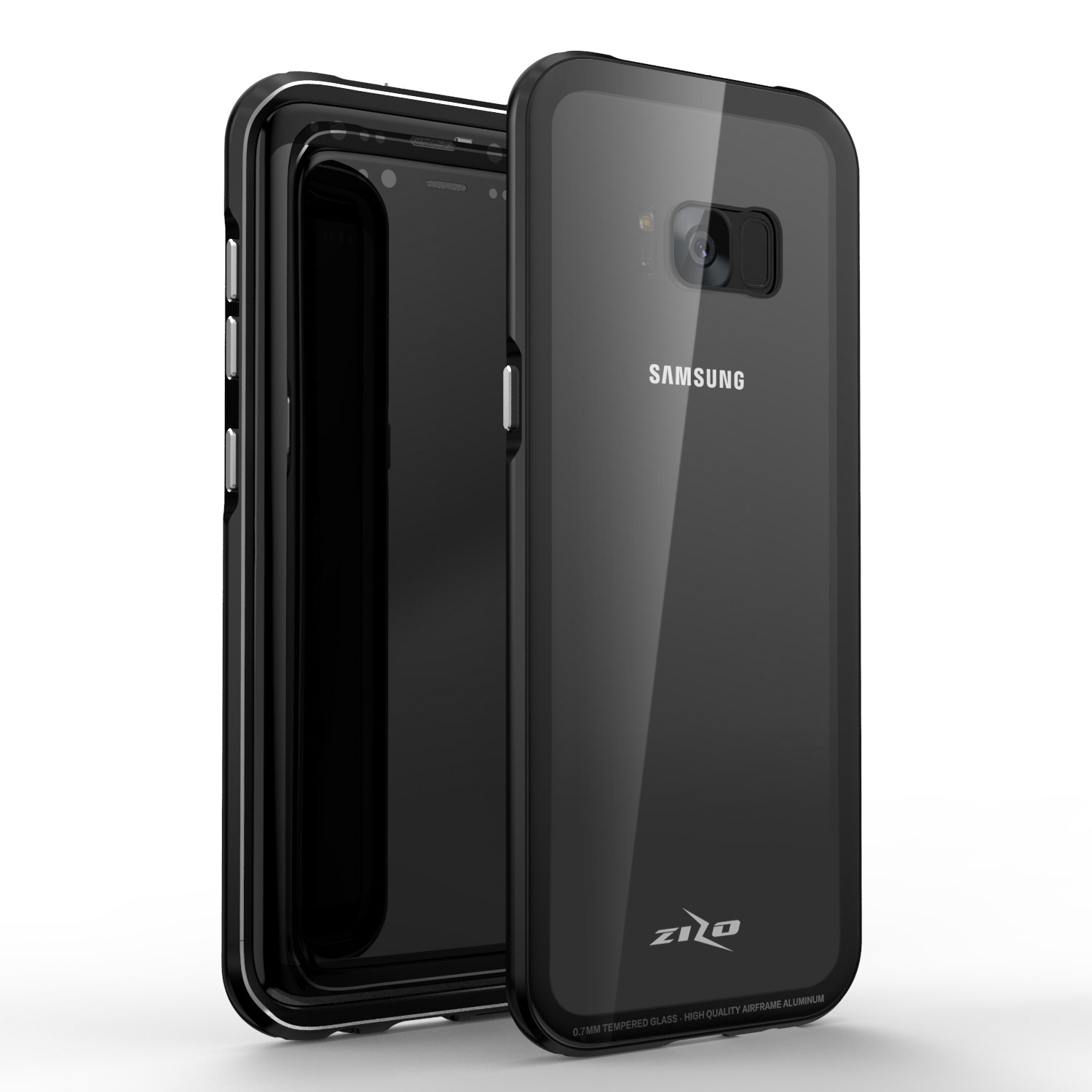 competitive price 52430 e21a6 Details about Samsung Galaxy Note 8 / S8 / S8 Plus Case, Zizo ATOM Series  w/ Screen Protector