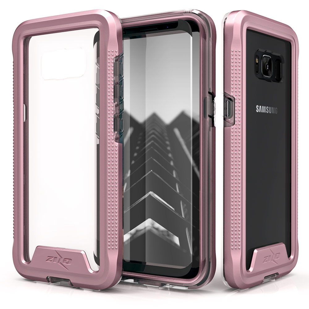 size 40 bb1cb b314c Details about Galaxy Note 8 / S8 / S8 Plus Case, Zizo ION Shockproof Cover  w/ Screen Protector