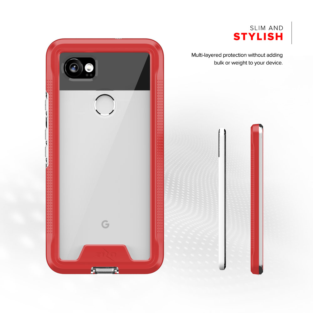 new concept 7c4f5 9e637 Details about Zizo ION Series Google Pixel 2 XL Case - Military Grade w/  Screen Protector
