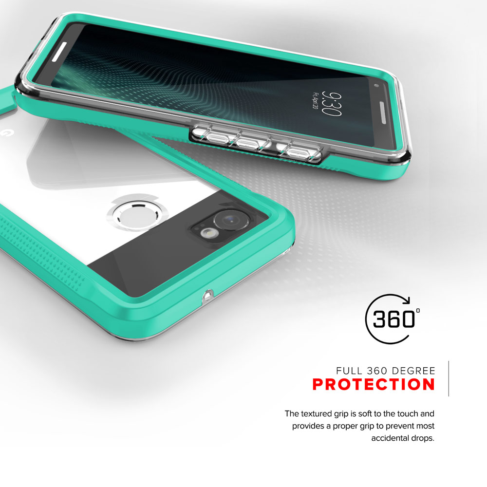 new concept b5214 77d61 Details about Zizo ION Series Google Pixel 2 XL Case - Military Grade w/  Screen Protector